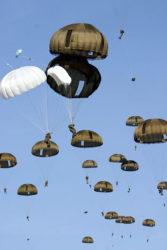 D DAY Parachutist
