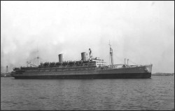 USS Mr. Vernon (SS Washington), among many Liverpool bound US troopships