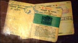 The permit to enter the secret spaces