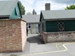 "PORTIONS OF ""HUTS"" AT BLETCHLEY PARK"