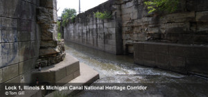 ILLINOIS MICHIGAN CANAL LOCK 1